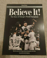 Chicago White Sox 2005 World Series Champions Believe It! 128 page Book Magazine