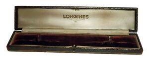 Vintage LONGINES Watch Box Display Case