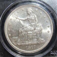 1877-S Trade $1 Dollar MS63 NGC.