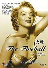 The Fireball (1950) - Marilyn Monroe, Mickey Rooney, Pat O'Brien - DVD NEW