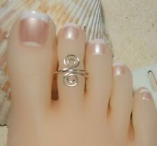 Toe Ring Sterling Silver Filled
