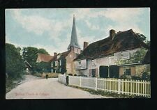 Kent BARHAM religion Church and Cottages pre1919 PPC