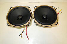 VINTAGE Cleveland Field Coil Tube Amp SPEAKERS Full Range 2895 & 971 ohms
