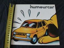Fiat 126 Humourcar 30° salone internazionale umorismo Bordighera 1977