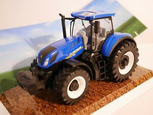 New Holland Tractor T7.315 Diecast Metal Bburago Motorized.1:50 Scale! Model Toy