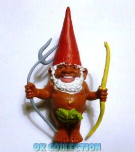 DAVID GNOMO INDIGENO PRIMITIVO INDIOS - personaggio in pvc alto 8 cm circa (09).