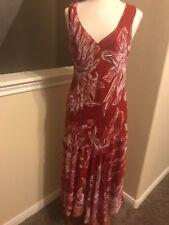 Red Sparkle Maxi Dress by Midnight Velvet new M