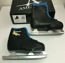 American Boys 385 Chillin' Double Runner Ice Skate Black Size 8y