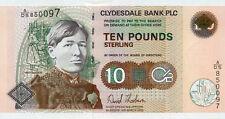 Scotland Clydesdale Bank P-226f 10 pounds 2006 UNC