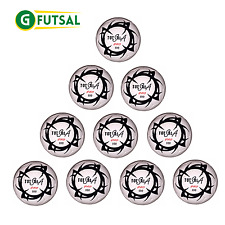 10 X GFUTSAL TOTALSALA 400 PRO - FUTSAL LOW BOUNCE MATCH BALL - SIZE 4