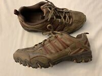 Skechers Comfort Womens Size 7 Lace Up Brown Leather Comfort Shoes