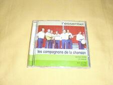 LES COMPAGNONS DE LA CHANSON L'essentiel CD Compilation 2002