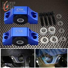 Billet Motor Torque Mount Kit For Honda Civic EG EK D16 B16 B18 B20 Engine Blue