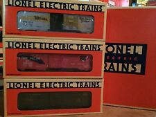 Lionel 6464 Boxcar Series - Edition Two 6-19257 (6-19258, 6-19259, 6-19260) OB