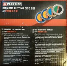 Parkside Diamante Taglio Disco Set pwzs 4 2 B1
