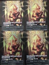 Force of Will Magic Stone Of Heat Ray x4 Full Art Foil Promo Souvenir-006