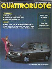 Q3 - QUATTRORUOTE N. 353 Marzo 1985 - THEMA 200 / ALFA 75 / 305