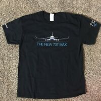 Boeing 737 Max Rollout T-Shirt Men's Size Large