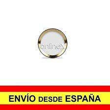 Adhesivo Protector Botón HOME para IPHONE 6/7 Color Blanco y aro Dorado a2642