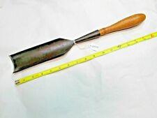 """Gouge, SARGENT VBM 2-3/32"""" Wide Vintage Woodworkers Gouge, Made in USA"""
