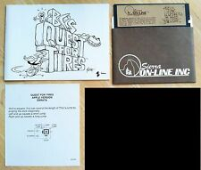 BC's Quest Tires by Sierra On-Line & Sydney 5.25 disk Apple II+,IIe,c,IIgs 1983