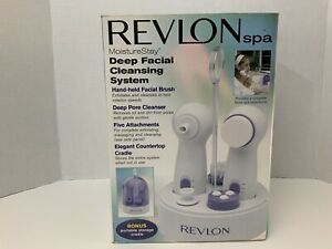 NEW Revlon Spa MoistureStay DEEP FACIAL CLEANSING SYSTEM RVS1137