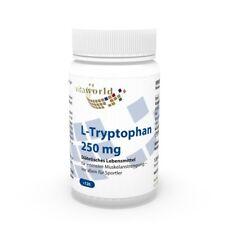 L-Triptofano  250mg  120 Capsule  Vita World farmacia Produzione in Germania