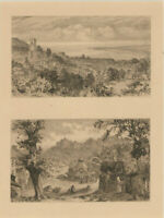 Alfred Dawson (act.1858-1922) - Early 20th Century Etching, Town Views