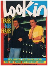 LOOK-IN No.47 19875 JUNIOR TV TIMES: TEARS FOR FEARS, SHAKIN' STEVENS, A-TEAM.
