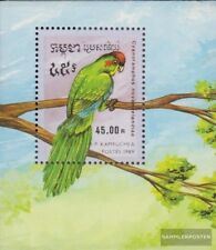 Cambodia block164 (complete issue) unmounted mint / never hinged 1989 Parrots