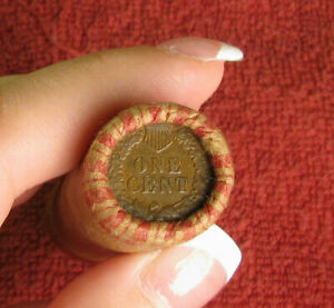 ONE UNOPENED ROLL INDIAN HEAD CENT  PENNY FROM ESTATE LOT COIN COLLECTION SET
