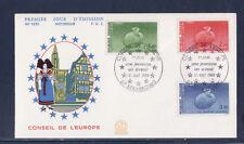 enveloppe 1er jour  conseil de l' Europe  67 Strasbourg      1985