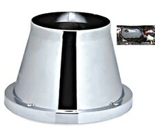 Chrome Induction Cone Air Filter Vauxhall Frontera 1998-2004