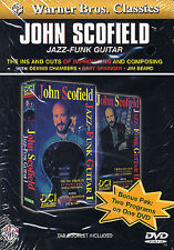 John Scofield Jazz Funk Guitar Learn to Play Lesson Tutor Music DVD