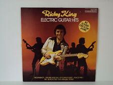 """RICKY ROI - GUITARE ÉLECTRIQUE HITS 12"""" LP (L4849)"""