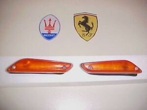 Ferrari Maserati Lamborghini Side Marker Light Pair OEM