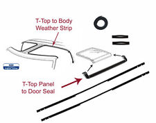 81 82 83 84 85 86 87 88 MUSTANG WEATHERSTRIPPING 9 PIECE T-TOP KIT
