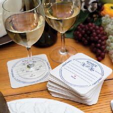 Advice For the Mr. and Mrs. Coasters Wedding Bridal Shower Keepsake - 25/pk