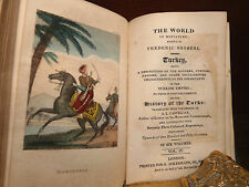 COSTUMI TURCHIA - SHOBERL : TURKEY in MINIATURE - LONDON 1824 30 Tavole a colori