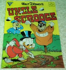 """Walt Disney Uncle Scrooge 226 NM (9.4) ROSA: """"The Paper Chase!"""""""