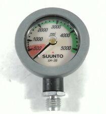 Suunto Seaquest SM-36 2in 5000 PSI SPG Submersible Pressure Gauge Scuba Dive