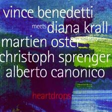 Heartdrops: Vince Benedetti Meets Diana Krall (CD, 2003, TCB, Import) FREE Ship