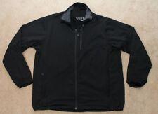 Mountain Hard Wear Fleece lined Full Zip Track Jacket Sweatshirt - Black mens XL