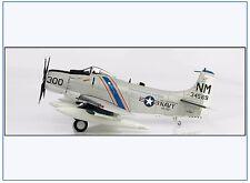 """HA2912 A-1H Skyraider US NAVY """"Knight Riders"""", 1967,Hobbymaster 1:72, NEU 3/17 &"""