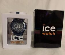 ICE-Watch Ice Aqua Chronograph Blue Watch 012 737 Large 44 mm Brand New In Box