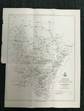 PROGRESS OF TRIANGULATION NSW 1913 M586