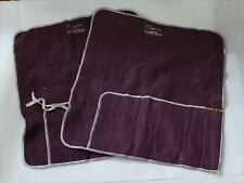 Capwell's Sterling Silver Flatware Place Setting Roll Up Storage Bags - Set of 2