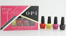 OPI Let's get wicked collection minis vernis de 3.75ml Mini pack