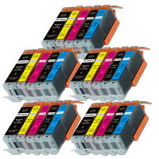 25PK Combo Printer Ink chipped for Canon 250 251 MG6600 MG6622 MX920 MX922