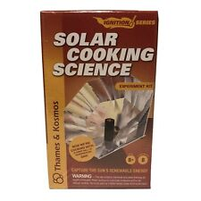 Thames & Kosmos - Solar Cooking Experiment Lab 659226 8 Experiments New & Sealed